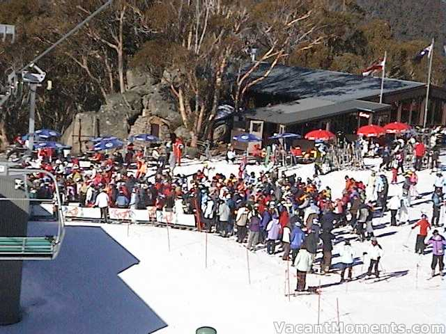 Big holiday crowds at Cruiser chair
