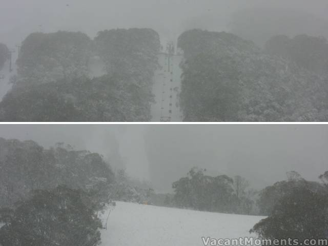 Crackenback and High Noon after 15cms (up top)