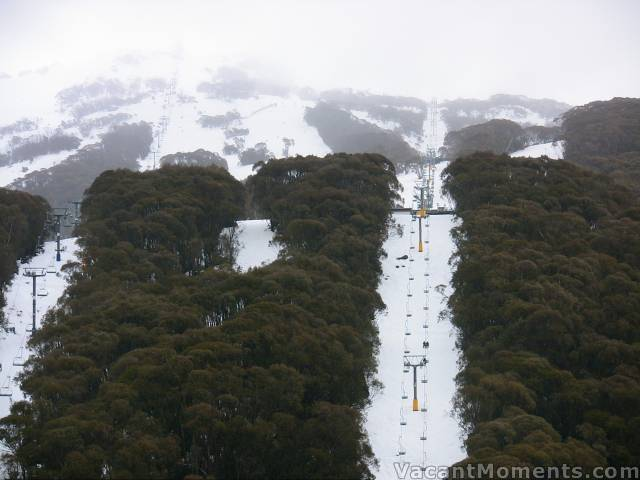Kosi & Snowgums chairs disappearing into the cloud