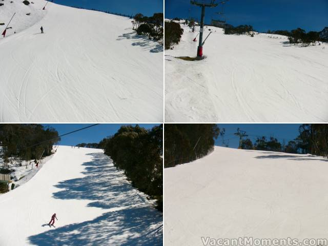 Three looks at World Cup<BR>and the crowded Supertrail below BunnyWalk