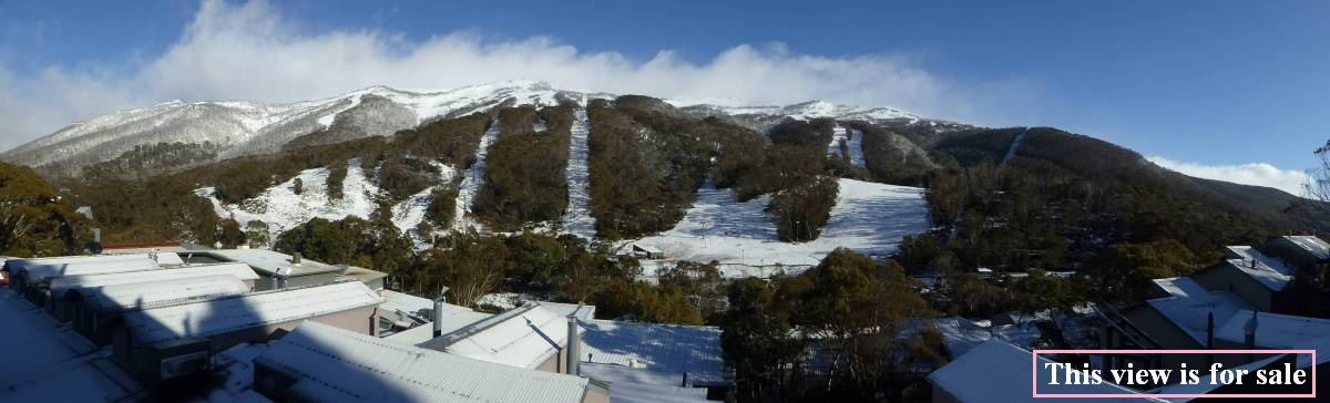 <a href=reports/balcony-panorama20161005.jpg>Click here for the big picture</a> and <a href=http://www.raineandhorne.com.au/snowymountains/properties/29-24-diggings-terrace-thredbo-village-2625-new-south-wales> here for more details</a>